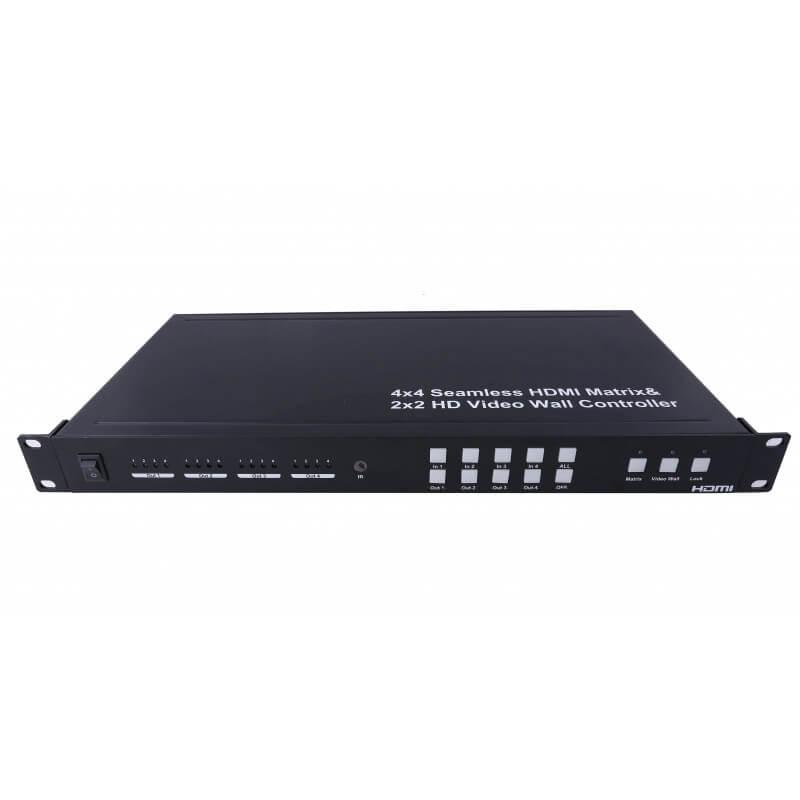Clevermic HDMI Matrix 4x4 и Контроллер видео стены 2x2