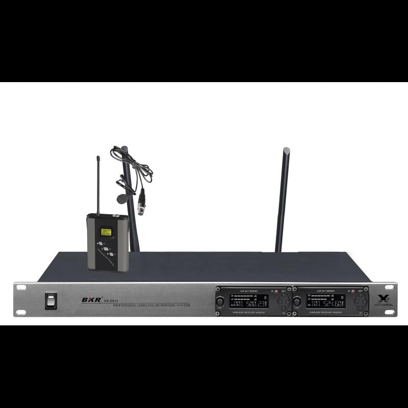 Радиомикрофоны BKR KX-D812 (два петличных)