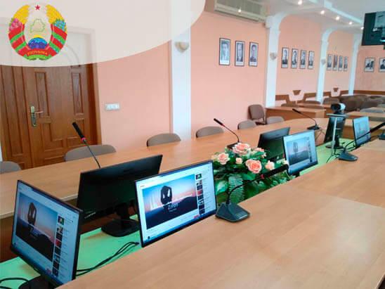 Конференц-зал для Министерства антимонопольного регулирования и торговли Республики Беларусь