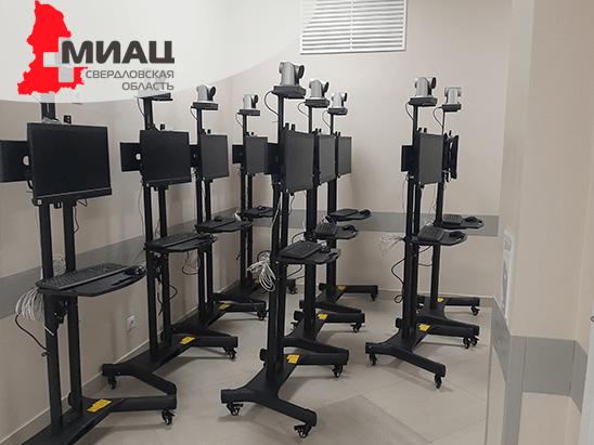 Проект «Здравоохранение» в Свердловской области: телемедицинское оборудование для 100 медучреждений
