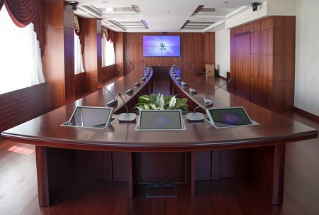 Оборудование конференц-зала для Ростест Москва